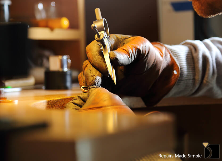 Image Showcasing a Professional Jewelry Repair Service